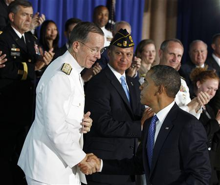 President Obama and Chairman of Joint Chiefs of Staff