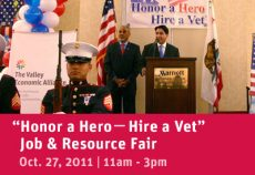 Honor a Hero, Hire a Vet