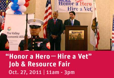 Honor a Hero, Hire a Vet