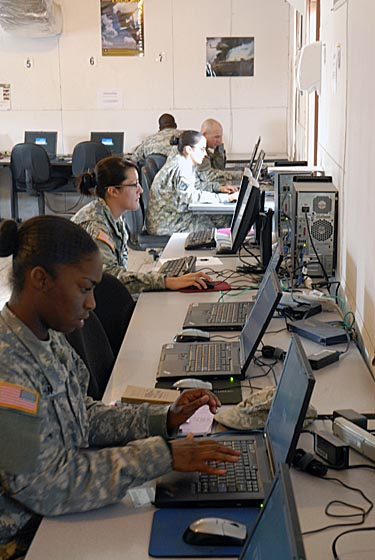 Military Soldiers and Technology