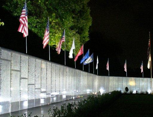Dignity Vietnam Memorial Wall