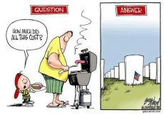 The true cost of Memorial Day