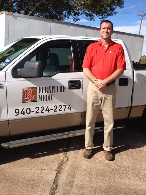 Ron Pierce ServiceMaster Furniture Medic