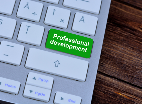 Keeping up your professional development can help your career advancement