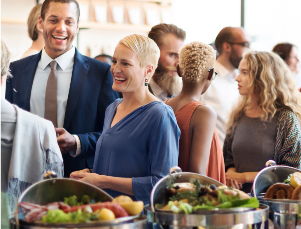 Networking at social events has a different technique