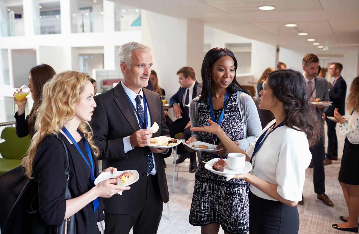 Networking is an important part of making the transition
