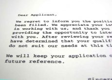 Getting a rejection letter isn't the end of the world